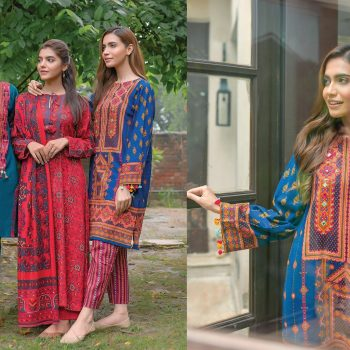 Kayseria Best Winter Dresses Collection 2020-21 for Women & Little Girls