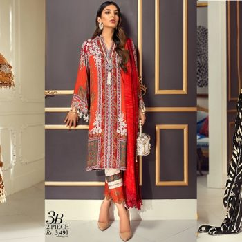 Sana Safinaz Winter Dresses Muzlin Collection 2020-21 with Prices