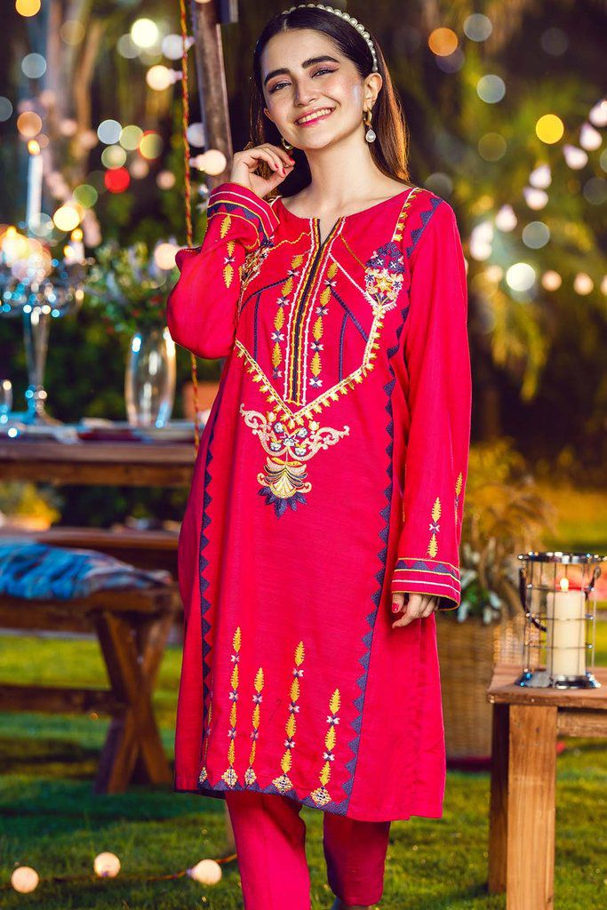 Alkaram Fall Winter Embroidered Dresses