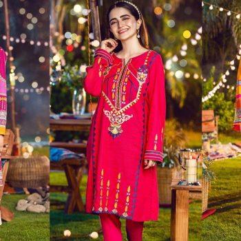 Warda Pakistani Designer Winter Shirts & Kurtis Collection 2020-2021