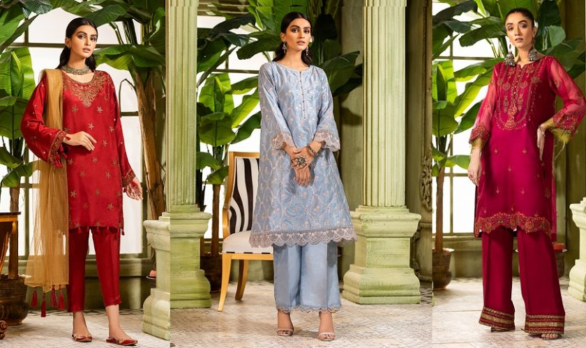 red – Nimsay Stylish Formal Dresses Festal Collection