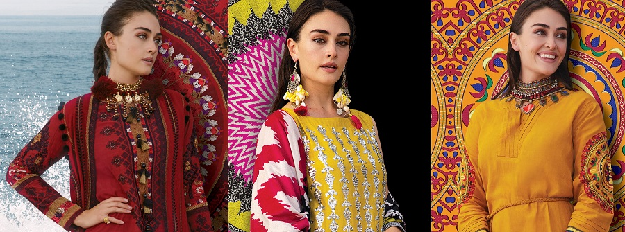Khaadi X Esra My Symphony Winter Dresses Collection