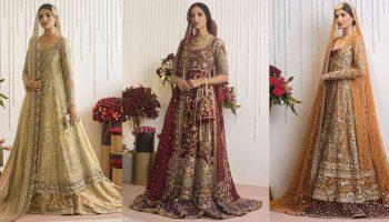 Sania Maskatiya Best Bridal Dresses Trends Latest Collection