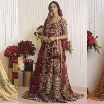 Sania Maskatiya Best Bridal Dresses Trends Latest Collection 2021