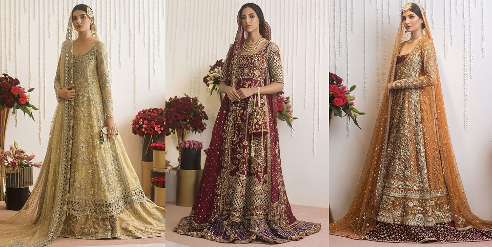 Sania Maskatiya Best Bridal Dresses Trends Latest Collection
