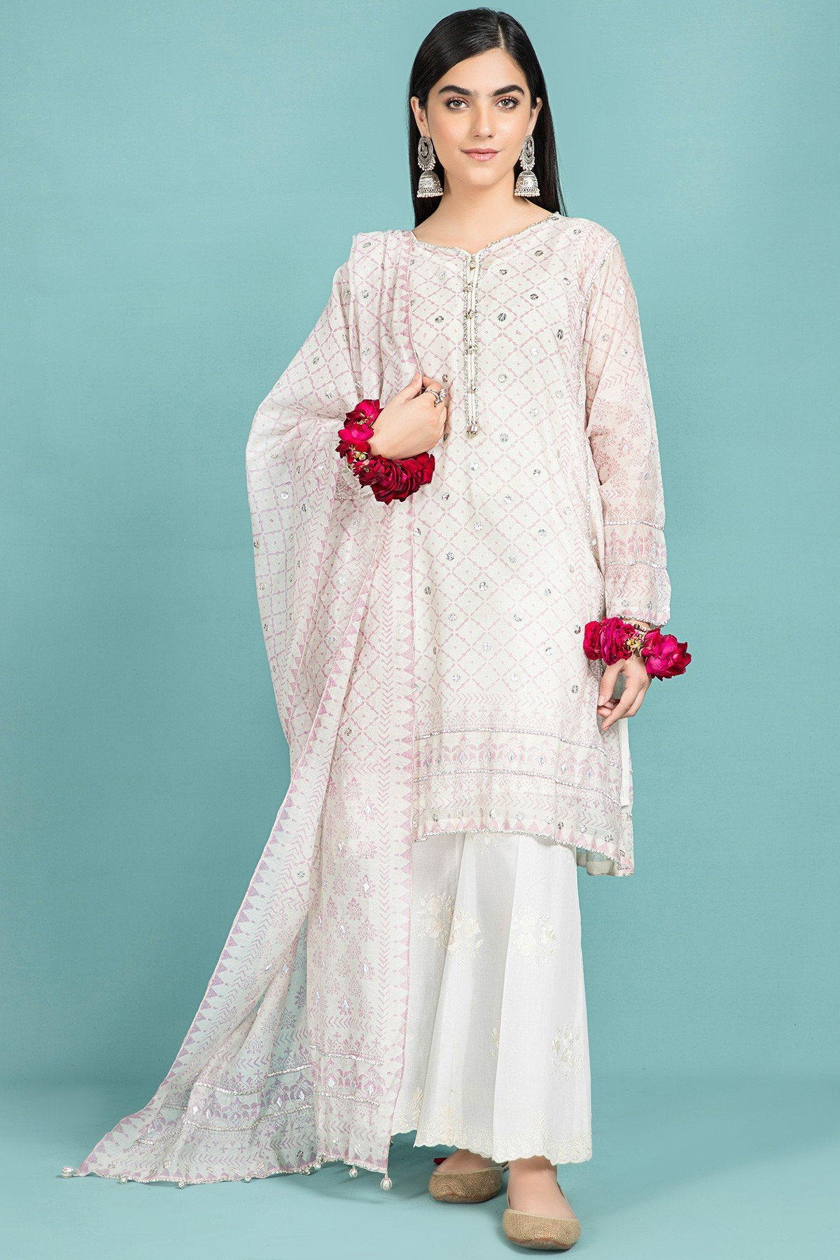 Pret & Printed Kayseria Beautiful Fancy Eid Dresses Collection 2021-2022 (13)