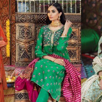 Kayseria Beautiful Fancy Eid Dresses Collection 2021-2022