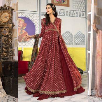 Maria B Prints Latest Women Printed Dresses Eid Collection 2021