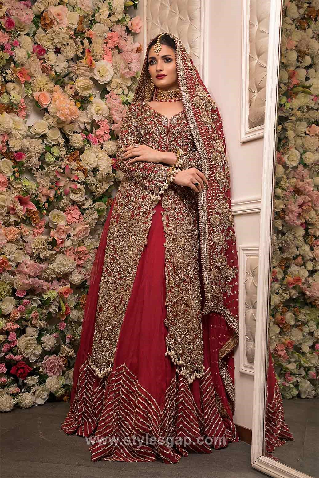 Pakistani Bridal Dress Brands & Designs
