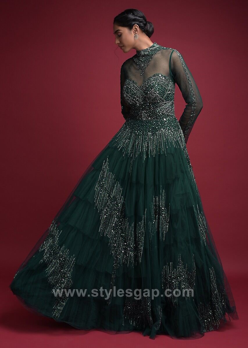 Bridal Maxi Style Anarkali Dresses Gowns