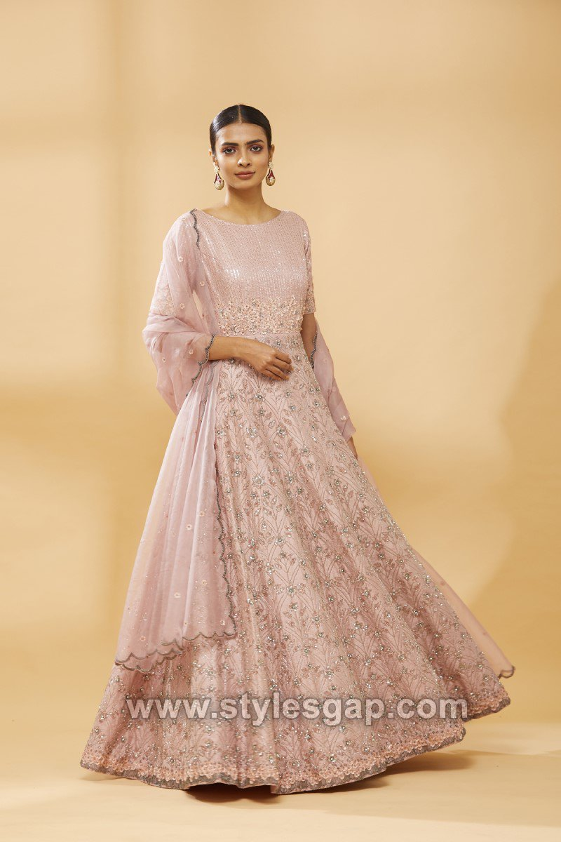 Casual Maxi Style Anarkali Dresses Gowns