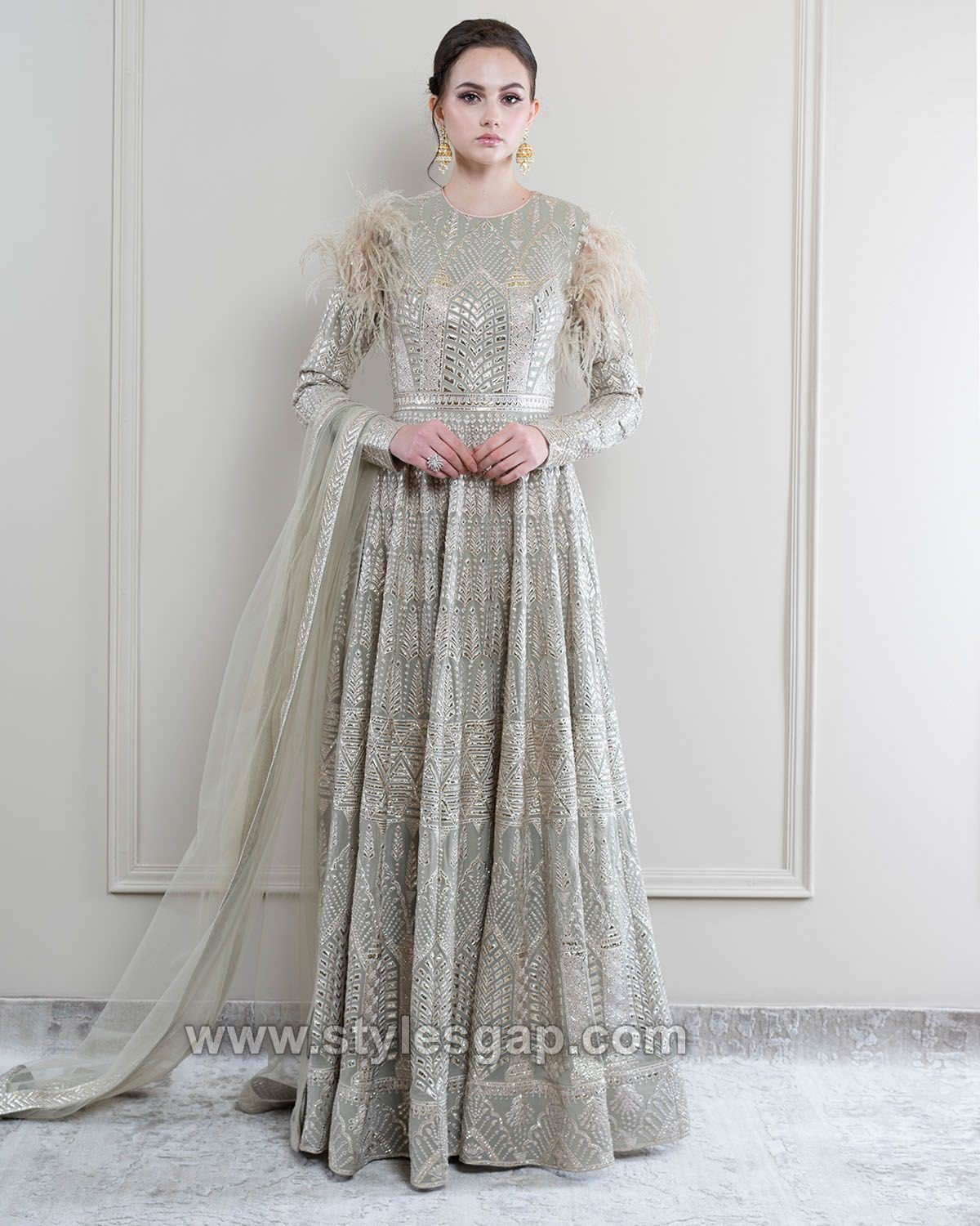 Maxi Style Anarkali Dresses Gowns