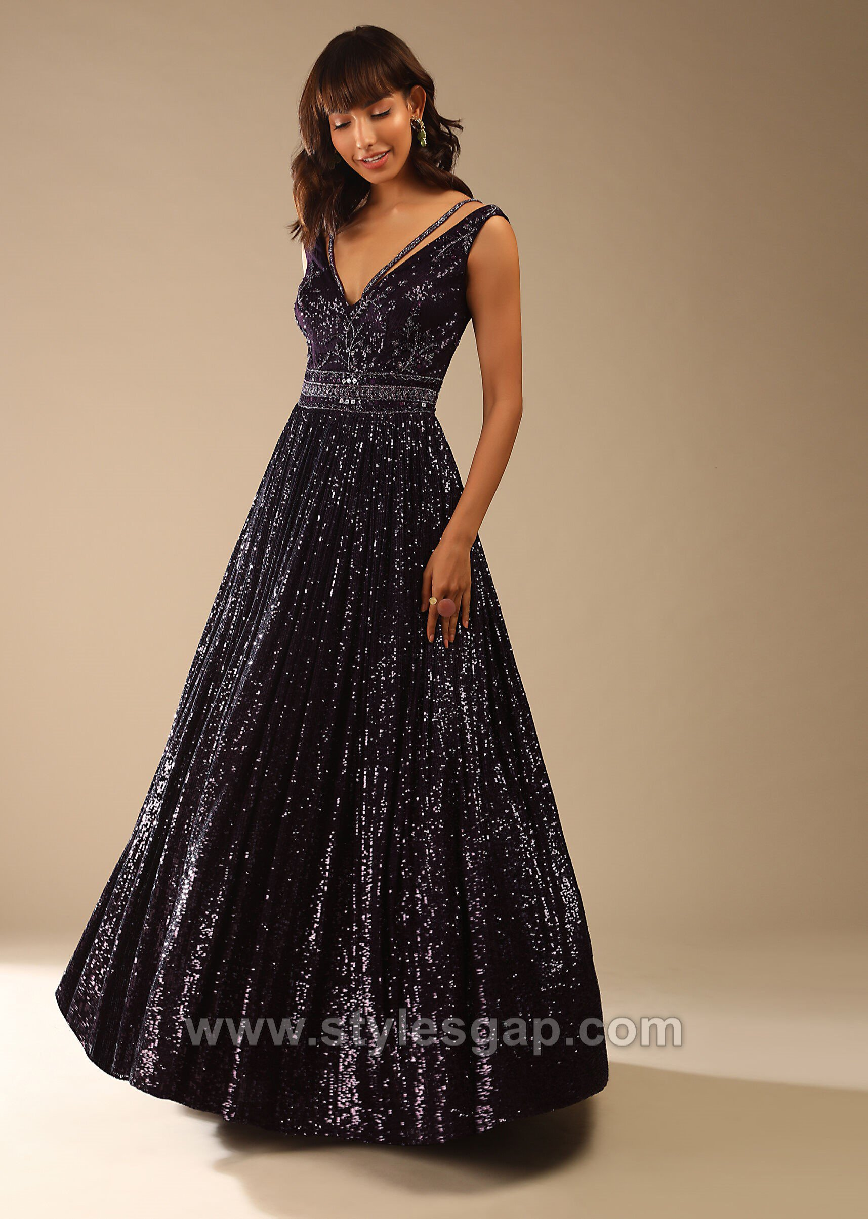 Formal Party Wear Maxi Style Anarkali Dresses Gowns