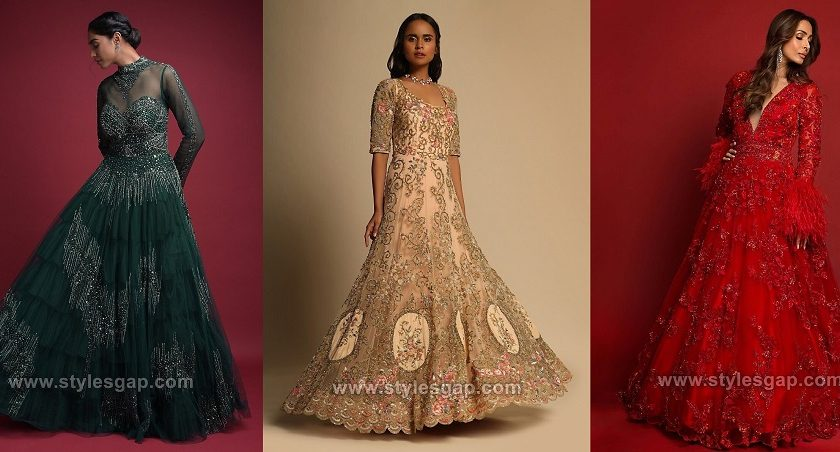 Latest Maxi Style Anarkali Dresses Gowns Designs