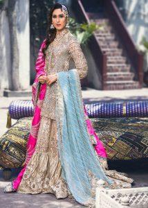 Latest Formal Wedding Bridal Sharara Designs