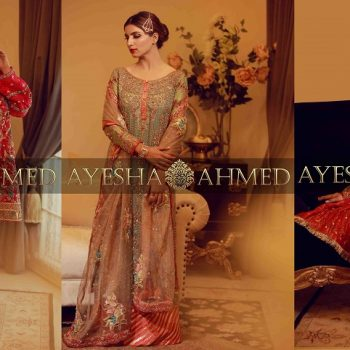 Ayesha Ahmed Formals Party Wear Dresses Designs 2021-2022 Collection